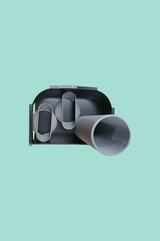 Fisher double duct kit mobil klímához - Mobil klíma kiegészítő - 1 db